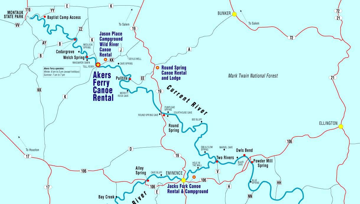 canoe missouri current river jacks fork river float camp cabins